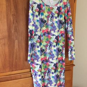 Women's Lularoe Debbie Dress Size Large